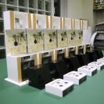 キッチンプチリフォーム説明用アクリル模型製作